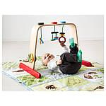 IKEA LEKA Стойка с игрушками, береза, разноцветный  (701.081.77), фото 2