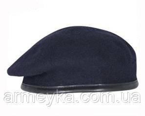 Армейский темно-синий берет. ВС Великобритании, оригинал.