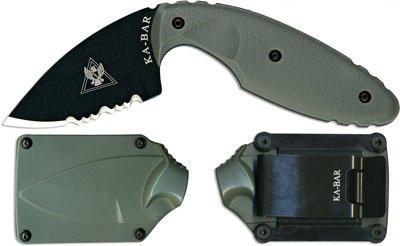 "1477FG Нож KA-BAR ""Original TDI"" ser.Foliage Green, дл.клинка 5,87 см."