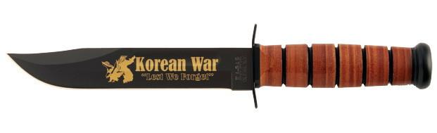 """9105 Ніж KA-BAR """"US ARMY Korean War"""" довжина клинка 17,78 см."""