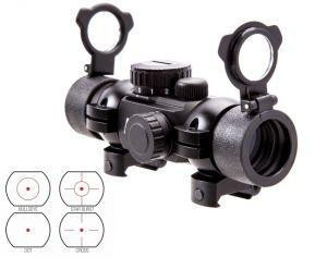 DTB4 Коліматор NcStar 30mm Red 4 Reticle Black #