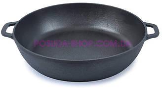 Сковорода чугунная жаровня Биол Ø 28см 03281