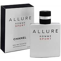 Мужская туалетная вода Chanel Allure homme Sport EDT 100 ml #B/E