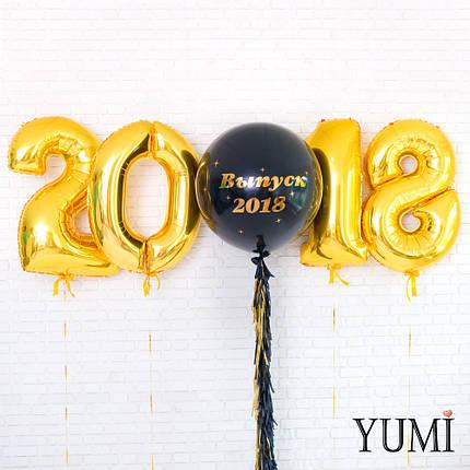 Оформление из воздушных шариков на Выпускной, фото 2