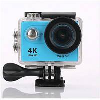 Экшн камера action 4K Wi-Fi - водонепроницаемая, глубина-30 метров, Ultra HD, 16MP.