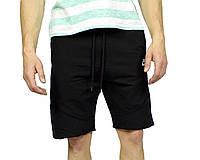Черные мужские трикотажные шорты NIKE на лето, фото 1