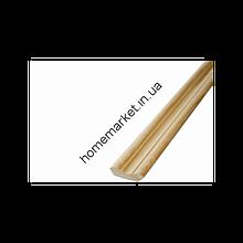 Плинтус фигурный 2 гат., сосна, срощенный 32*32*2200мм от 20 шт