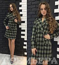 Платье пиджак на запах джерси, фото 2