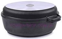 Гусятница Биол антипригарная с крышкой-сковородой, 2,5 л. Г301П