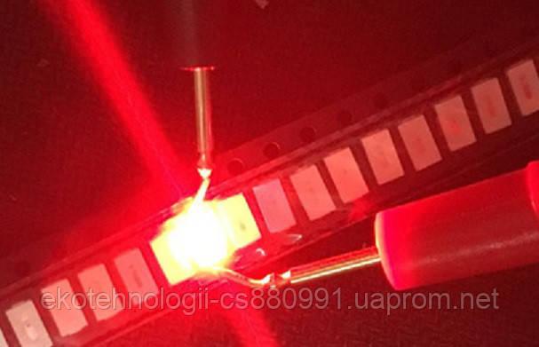SMD светодиод 5730  0.5W, красный 620-625 nm