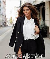 Блуза с бантом под брюки, фото 2