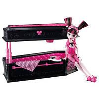 Кукла Дракулаура с кроватью (Monster High Draculaura Doll & Jewelry Box Coffin Set), фото 1