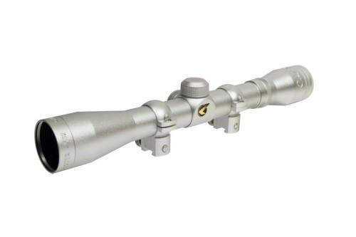 VE4x32WRSIL Приціл оптичний Gamo 4х32 WR Silver