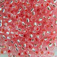 Чешский бисер для рукоделия Preciosa (Прециоза) оригинал 50г 33119-08273-10 Розовый