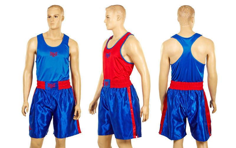 Форма боксерська EVERLAST двостороння синьо-червона