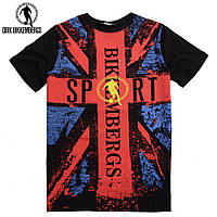 Стильная молодежная мужская футболка