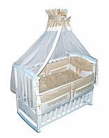 Детский постельный комплект Вышиванка, 8 елементов (КТ-0049) Тигрес Украина