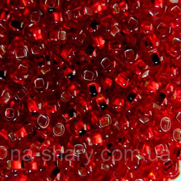 Чешский бисер для рукоделия Preciosa (Прециоза) оригинал 50г 33129-97090-10 Вишневый