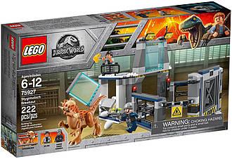 Lego Jurassic World Побег Стигимолоха из лаборатории 75927