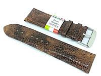 Ремешок для часов Maknamara MK03BR01-24 24 мм Коричневый