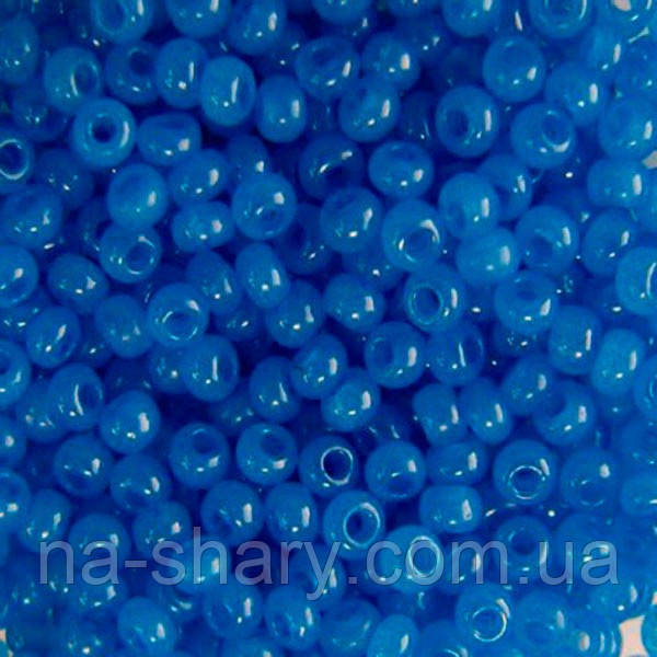 Чешский бисер для рукоделия Preciosa (Прециоза) оригинал 50г 33119-17836-10 Синий