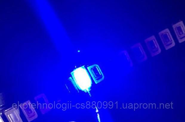 SMD светодиод 5730  0.5W, синий 460-465 nm