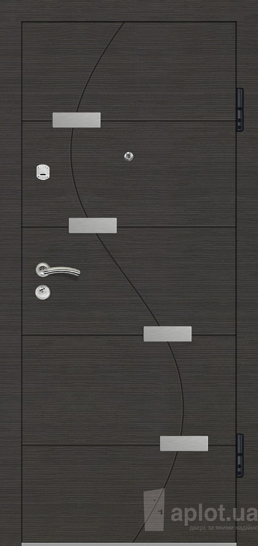 Вхідні двері. Aplot. Techno Lux