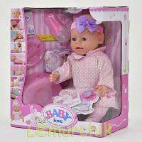 Кукла-пупс Baby born копия, 8 функций, 8 аксессуаров
