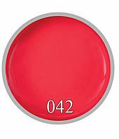 Гель краска Amro №42 Яркий коралл