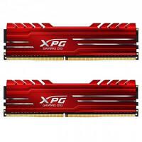 Модуль памяти для компьютера DDR4 16GB (2x8GB) 3000 MHz XPG GD10-HS Red ADATA (AX4U300038G16-DRG)