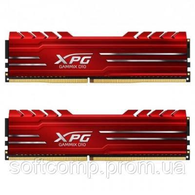 Модуль памяти для компьютера DDR4 16GB (2x8GB) 2666 MHz XPG GD10-HS Red ADATA (AX4U266638G16-DRG)