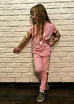 Детскийкостюм кофта и штаны с атласной лентой, фото 3