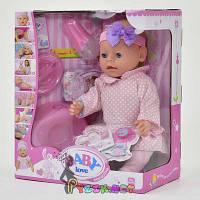 Кукла-пупс Warm baby копия, 8 функций, 8 аксессуаров