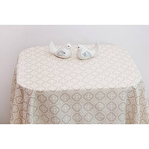 Хлопковая скатерть на стол Ажур, фото 2