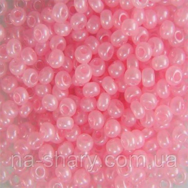 Чешский бисер для рукоделия Preciosa (Прециоза) оригинал 50г 33119-17298-10 Розовый