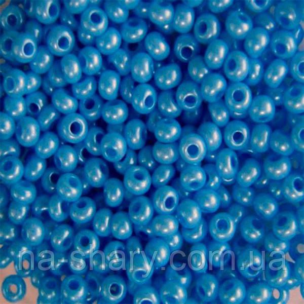 Чешский бисер для рукоделия Preciosa (Прециоза) оригинал 50г 33119-16936-10 Синий