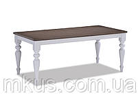 Стол деревянный Шарлин 1500(+400)*900*750 h орех седой
