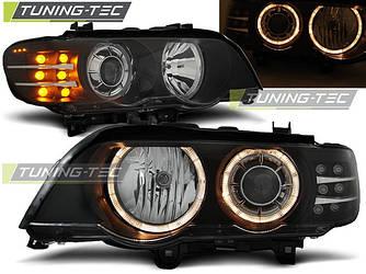 Передні фари тюнінг оптика BMW X5 E53 дорестайлинг