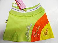 Детская юбка трикотаж Турция 1