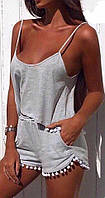 Костюм женский топ и шорты , фото 1