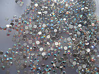 Камни сваровски для ногтей, хамелион, 100 шт, №4, (1,5мм)