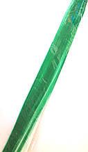 Пасма штучного волосся 2 шт на шпильках, зелені