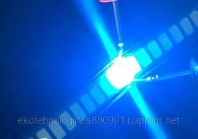 SMD светодиод 5730  0.5W, синий Ice Blue