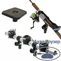 Набір FASTen Ghs503-3 Набір тарга 500 мм з трьома замками, держателем удилица і майданчиком для ехолота для човнів