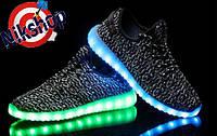 Красовки Adidas Yeezy boost 350 LED
