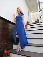 Женское платье в пол трансформер масло