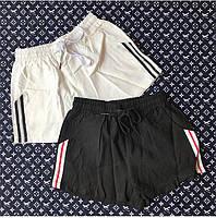 Женские модные коттоновые шорты на завязках, фото 1