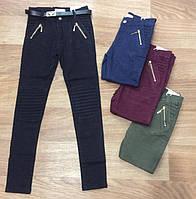 Котоновые брюки для девочек Seagull 134.140.146 ррКотоновые брюки для девочек Seagull оптом. Состав ткани:85%