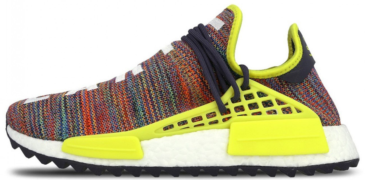 """Мужскиекроссовки adidas x Pharrell Williams Human Race NMD """"Multicolored""""(Адидас Фарель) разноцветные"""