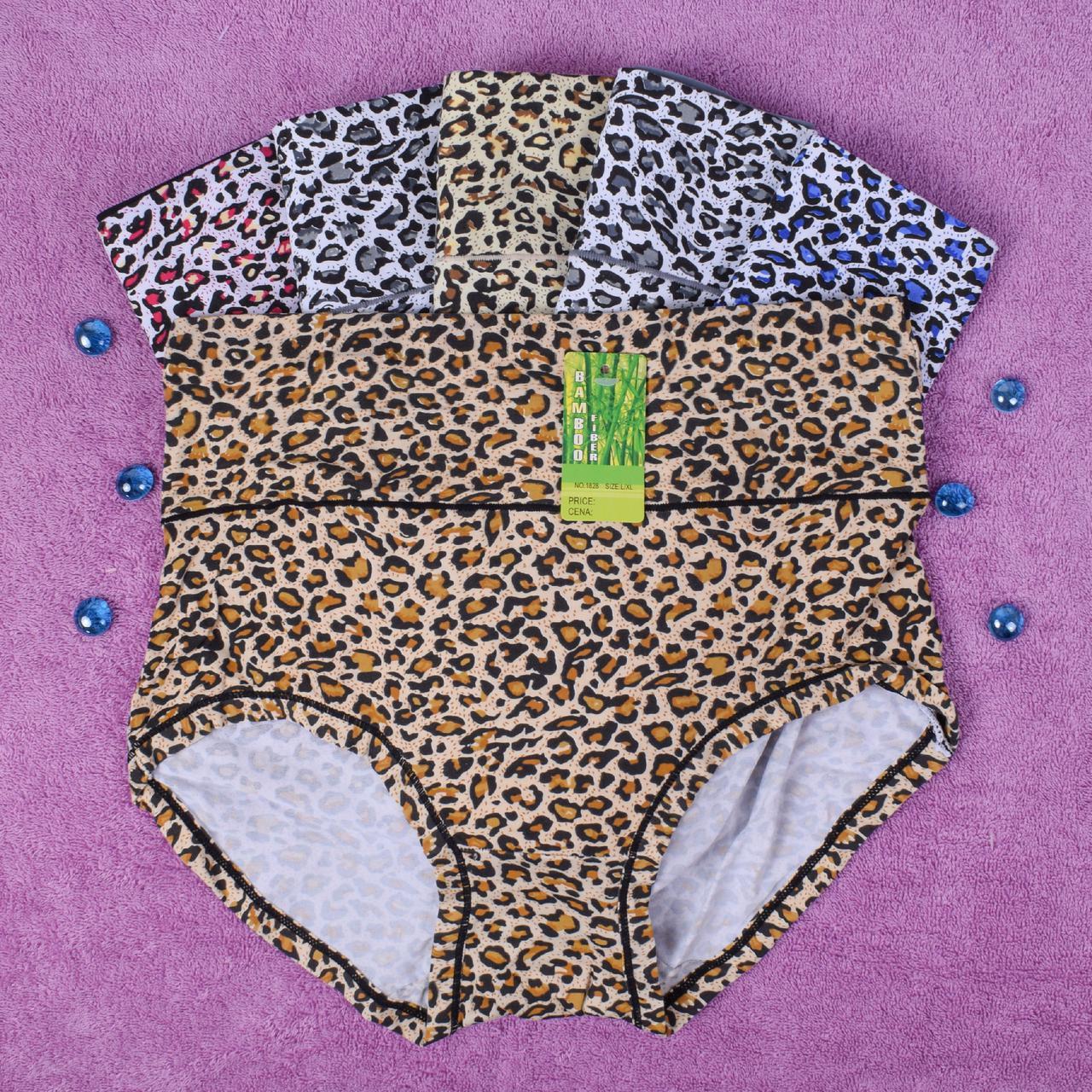Трусы женские бамбуковые. Djan 1828 L/XL. Размер 50-52. В упаковке 6 ш